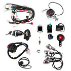 For 50cc 125cc Chinese ATV Quad Full Electric Start Engine Wiring Harness Lights