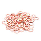 M10 M12 Copper Crush Washer Spacers ATV Motorcycle Engine Brake Caliper Cylinder