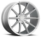 20 BLAQUE DIAMOND BD 11 SILVER WHEELS FOR AUDI D4 D5 A8 A8L