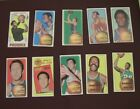 1970-71 Topps Basketball Lot (10) Bradley Havlicek Tall Boys