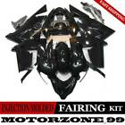 Premium ABS Fairing Kit For Kawasaki Ninja ZX10R 2004-2005 Bodywork Set Black 05