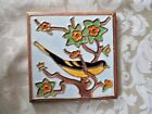VINTAGE WHEELING POTTERY CO. BALTIMORE ORIOLE TILE (1913-1960)