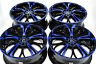 17 blue Wheels Rims Camry Celica xB Jetta Avenger Civic Accord TSX 5x100 5x1143
