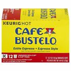 Cafe Bustelo K Cups Espresso Style 12 ct
