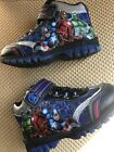 Toddler Boys Marvel Avengers Velcro Closure High top sneakers Size 11