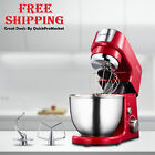 Stand Mixer Electric 7 Speeds Pulse 2.6 Quart Stainless Steel Bowl Kitchen Tool