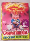 GARBAGE PAIL KIDS-1986 4th Series-Full Box-Stickers and Bubble Gum-Countertop