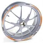 USEN Sticker wheel Rim Keeway silver Partner 100 Orange strip tape vinyl adhesiv