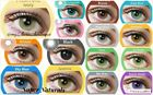 Freshtone Super Naturals Color Contacts in many different colors Free case