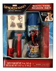 1X Spider Man Childs Bath Time 5 Piece Play Shave Set: Pretend Shave: Red Comb