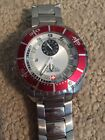 Swiss Military Hanowa large face with Red inlay Wrist Watch for Men