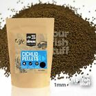 Natural Cichlid Sinking Pellets 1.5mm Bulk Aquarium Fish Food 1/4LB to 5LBS