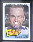 2014 Topps Heritage Baseball Certified Autograph Issue Charlie James ROA-CJA