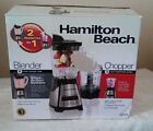 Hamilton Beach 58149 Blender Chopper Food Processor 2 Speed shakes ice drink NEW