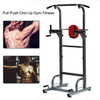 4 in 1 Power Tower Station Workout Pull Up Push Dip Station Knee Raise Home Gym