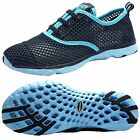 Womens Stylish Quick Drying Water Shoes Blue 85 Sports Tennis Shoe Sneaker New