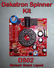 Dekatron Spinner Kit Variable Speed Parts  PCB 12V in No Tube DS02