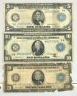 5 10 and 20 Series 1914 Federal Reserve Notes no reserve
