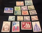 Chile Mint Stamps Air Mail Aviation Airplanes MNH 17 Stamps