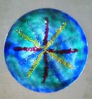 Giant Mid Century Enamel Charger/ Plate By Bovano Danish Modern