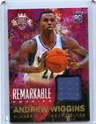 Panini Announces Exclusive Deals with Andrew Wiggins, Jabari Parker, 5 Others Ahead of NBA Draft 17