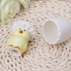 Ceramic Salt Pepper Shaker Seasoning Pot Cooking Tableware Chick Egg Style