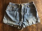 Womens Vintage Jean denim cut off hot booty high waist Lee 70s 80s Shorts levis
