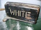 Antique WHITE Sewing Machine Foot Pedal