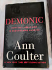 Two Hardcover Books by Conservative Ann Coulter Mugged and Demonic