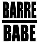 """""""BARRE BABE"""" Decal  for Lap Top, Tablet, Phone, Glass, Mirror, Car, Window"""