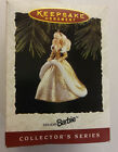 1994 Happy Holidays Barbie Doll Hallmark Keepsake Ornament Handcrafted/Sculpted