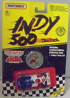 MJ7  Matchbox - 1991 Indy 500 - Indy Race Car - Blue & White - #76