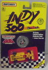 MJ7  Matchbox - 1991 Indy 500 - Indy Race Car - Yellow - #4 Pennzoil