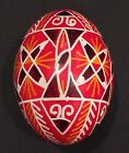 Ukraine Pysanky Pysanka Hand Painted Real Blown Easter Egg Collectible Ornament1