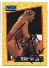 TERRY TAYLOR Red Rooster AUTOGRAPHED SIGNED 1991 WCW Auto Trading Card WWE PROOF