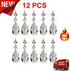 10 Clear Large Chandelier Crystal Glass Icicle Drops Hanging Pendant Lamp Parts