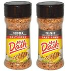 Mrs Dash Original Blend Salt Free Chicken Grilling Blend 2 Bottle Pack