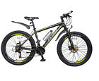 26 Mens Mountain Bikes Bicycles 21 Sps Aluminium Frame SHIMANO Collection Only