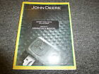 John Deere GATOR HPX Diesel Utility Vehicle Owner Operator Manual OMM15251315