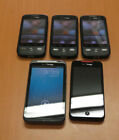 Lot of 5 Verizon HTC Smartphones Droid Eris Droid Incredible Thunderbolt