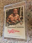 2011 Topps UFC Moment of Truth Red Ink 1st Auto DEMETRIOUS JOHNSON 02 15 Rookie
