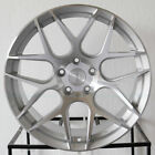 4 New 19 Aodhan LS002 LS2 Wheels 19x85 5x1143 35 Silver Machined Face Rims