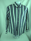 Tommy Hilfiger Mens Dess Shirt Large Long Sleeve 80's 2 ply fabric pre owned