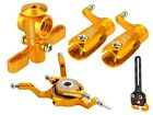 Microheli CNC Blade NANO CPX Power package GOLD BLADE NANO CPX CPS S2