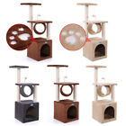 36 Cat Tree Condo Furniture Play Toy Kitten Pet House Scratching 5 Types