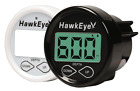 HawkEye In Dash Depth Finder Sounder Thru Hull Transducer