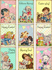 SET OF 9 25X35 EASTER RETRO 41 SCRAPBOOK CARD CRAFT HANG GIFT TAGS
