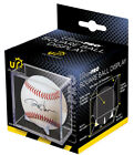 3 Ultra Pro UV Protected Baseball Cube Display Cases w Stand Cradle Holder 81528
