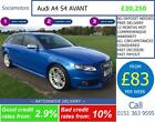 Audi S4 Avant 30T GOOD BAD CREDIT CAR FINANCE AVAILABLE