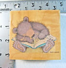 Stampabilities Gruffies Rubber Stamp Bedtime Story Pebble